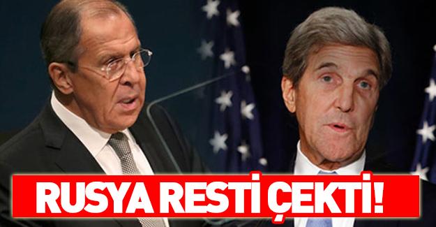 Lavrov Washington'ı suçladı