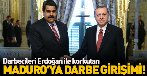 Maduro'ya darbe girişimi!