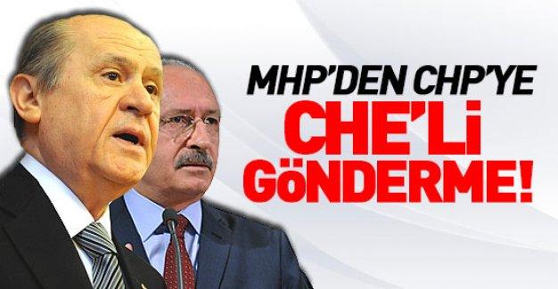 MHP'den CHP'ye zehir gibi cevap!