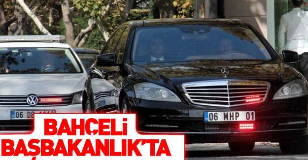 MHP lideri Bahçeli Çankaya Köşkü'nde