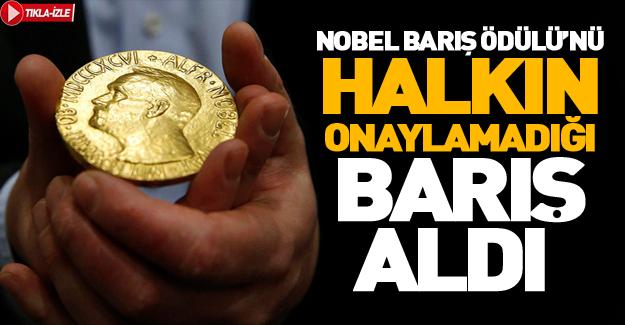 Nobel Barış Ödülü'nün sahibi belli oldu