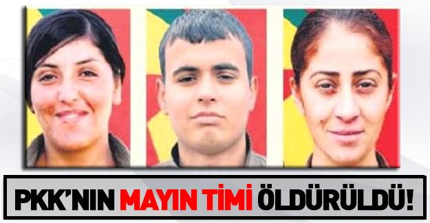 PKK'nın mayın timi öldürüldü!