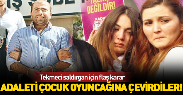 Tekmeci saldırgan için flaş karar!