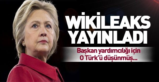 Wikileaks Clinton'ın gizli konuşmalarını yayınladı!