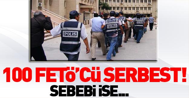 100 FETÖ'cü hakim ve savcı serbest bırakıldı!