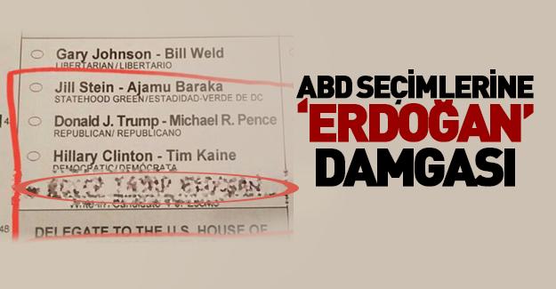 ABD'de seçimlere 'Erdoğan' damgası!
