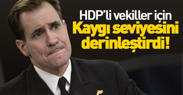 ABD, HDP'li vekiller için çok kaygılı!