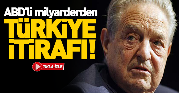 ABD'li milyarderden Türkiye itirafı!
