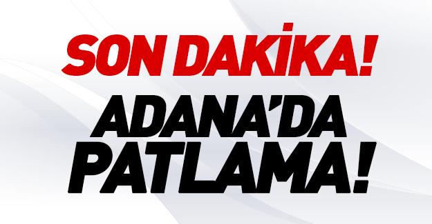 Adana Valiliği'nde patlama!