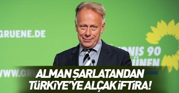 Alman şarlatandan Türkiye'ye küstah iftira