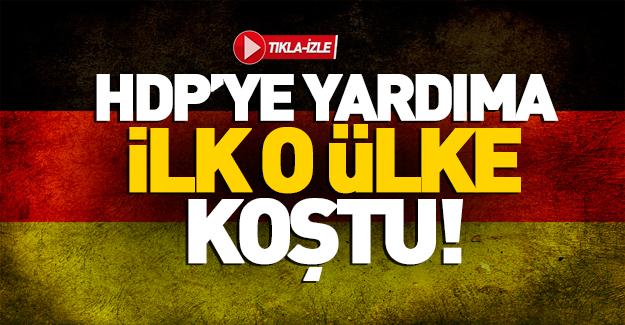 Almanya'dan HDP'ye acil ziyaret!