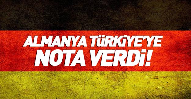 Almanya'dan Türkiye'ye 'PKK' notası