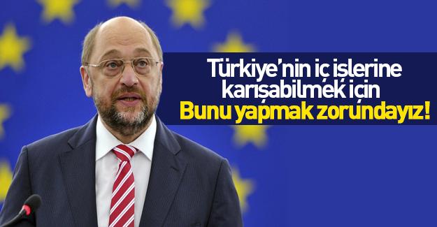 AP Başkanı Schulz'dan Türkiye açıklaması