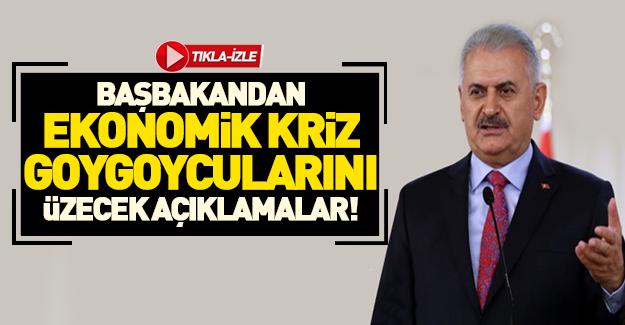 Başbakan Yıldırım'dan flaş kriz açıklaması