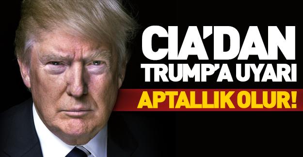 CIA direktöründen Trump'a uyarı!