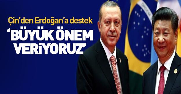 Çin'den Erdoğan'ın 'Şanghay Beşlisi' açıklamasına destek
