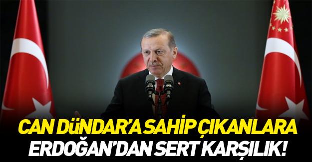 Cumhurbaşkanı Erdoğan'dan 'Can Dündar' açıklaması