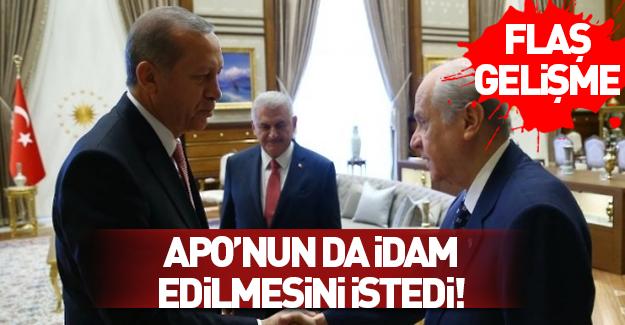 Cumhurbaşkanı Erdoğan ve Bahçeli görüşmesi sona erdi