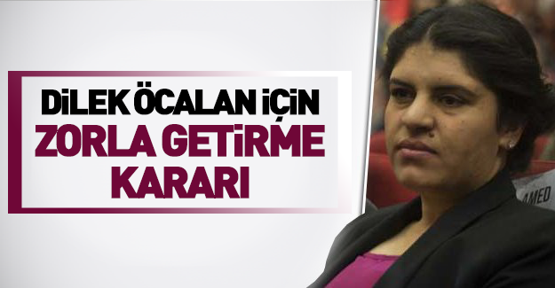 Dilek Öcalan için flaş karar!