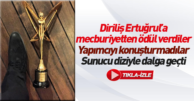 Diriliş Ertuğrul'un oyuncusundan Altın Kelebek'e tepki