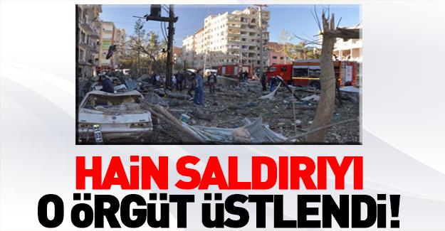 Diyarbakır'daki hain saldırıyı PKK üstlendi!