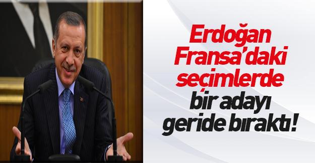 Erdoğan Fransa'daki seçimlerde bakın hangi adayı geçti!