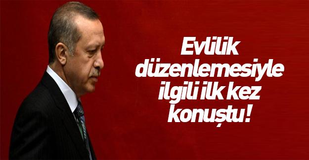 Erdoğan ilk kez konuştu!