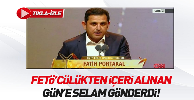 Fatih Portakal'dan FETÖ propagandası!