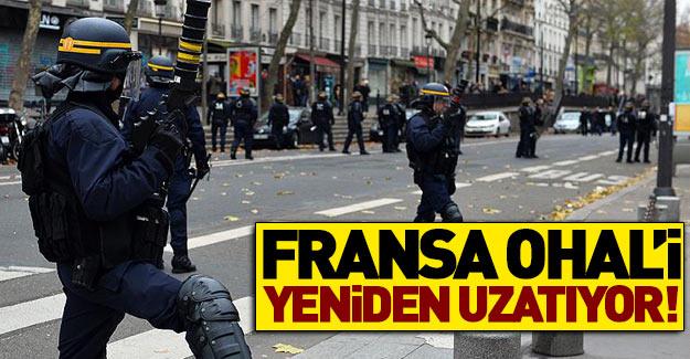 Fransa OHAL'i uzatma kararı aldı
