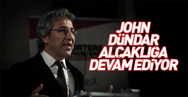 Hain Can Dündar'dan Erdoğan'ı hedef alan alçak açıklamalar