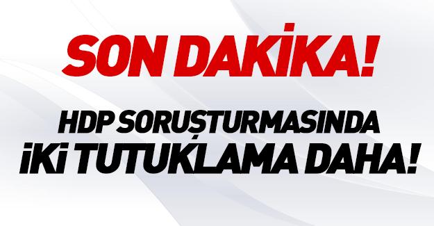 HDP'de iki tutuklama daha!