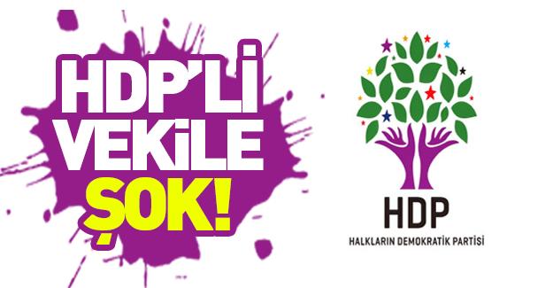 HDP'li vekile havalimanı'nda şok!