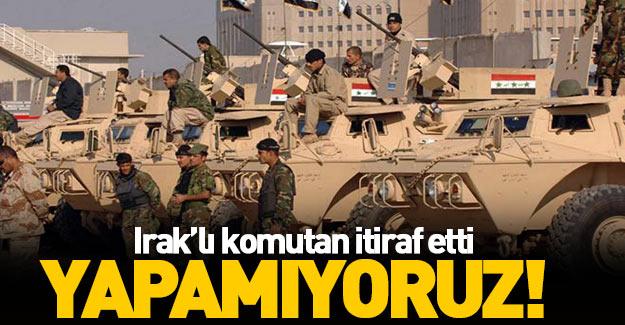 Irak ordusu Musul'da ilerleme kaydedemiyor!