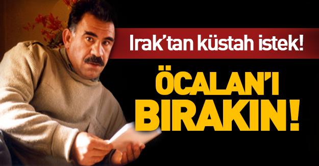 Irak'tan kriz yaratacak istek! 'Öcalan'ı bırakın!'