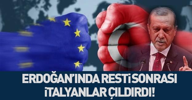 İtalya: Erdoğan sınır kapılarını açarsa...