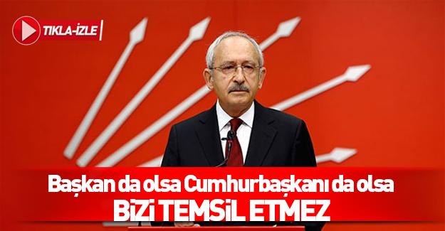 Kılıçdaroğlu'ndan başkanlık sistemi açıklaması