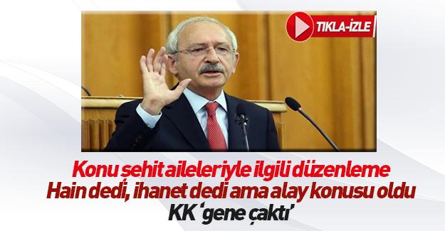 Kılıçdaroğlu'nun 'şehitleri ayırıyorsunuz' çıkışına cevap