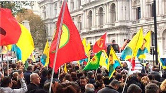 Londra'da PKK'lıları susturan 2 Türk