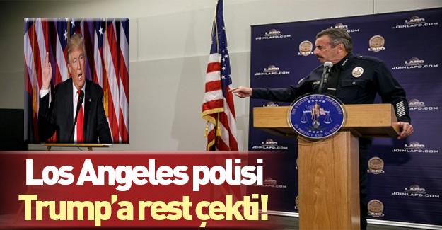Los Angeles Polis Departmanı Trump'la çalışmayacak