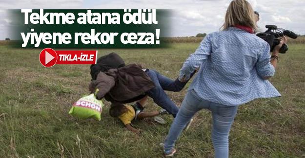 Macar polisine taş atan Suriyeliye rekor ceza!