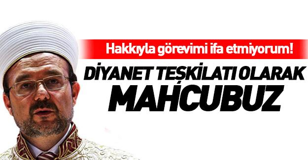 Mehmet Görmez'den 15 Temmuz özeleştirisi