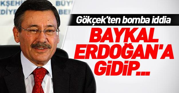 Melih Gökçek'ten bomba iddia: Baykal, Erdoğan'a gidip...