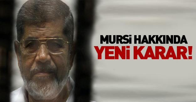 Mursi hakkındaki o karar bozuldu