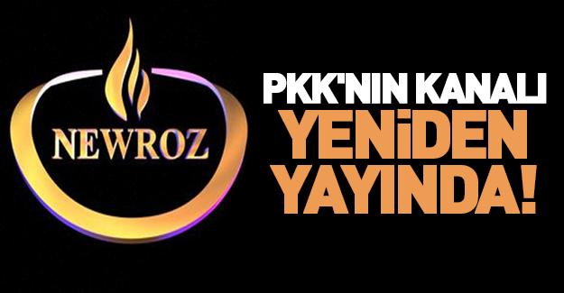 PKK'nın kanalına yasak kalktı