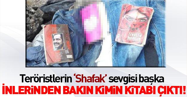 PKK sığınağından çıkan kitaplar şaşırtmadı!