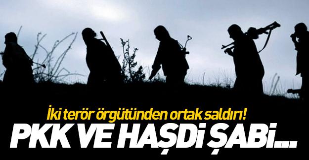 PKK ve Haşdi Şabi'den ortak saldırı!
