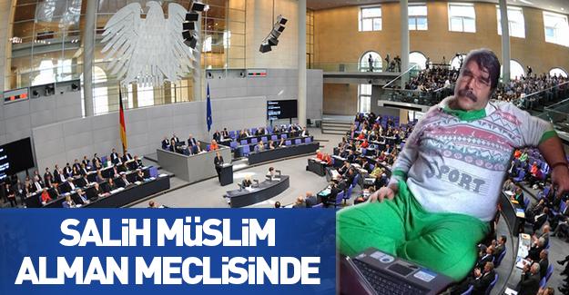 PYD elebaşı Salih Müslim Almanya Federal Meclisi'nde