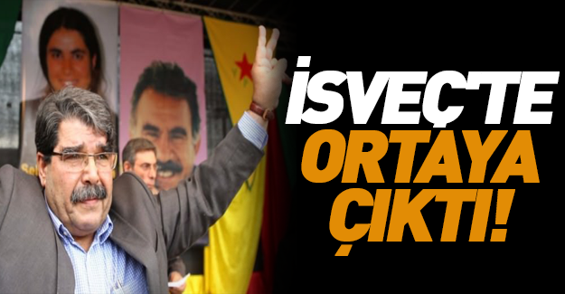 Salih Müslim İsveç'te fena yakalandı!