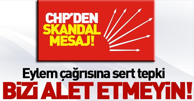 Şehid ailesinden CHP'nin eylem çağrısına tepki