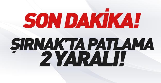 Şırnak'ta PKK saldırısı! 2 kişi yaralandı